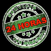 servicio 24 horas, 365 días al año